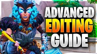 ADVANCED EDIT GUIDE! 10 Edit Courses to Improve Editing Fast! (Fortnite Battle Royale)