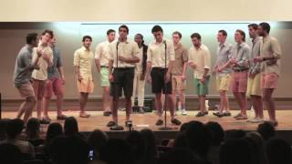 Thinking Out Loud/I'm Not The Only One Mashup (acapella) -- The Williams Octet ft. Omega Dolla