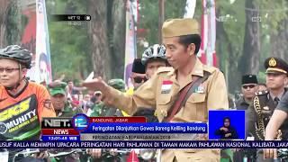 Download Video Presiden Jokowi Gowes Sepeda Bareng Setelah Upacar Hari Pahlawan di Bandung MP3 3GP MP4