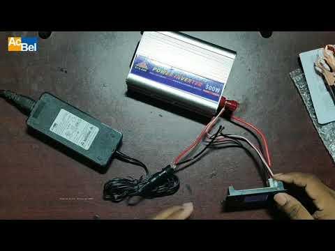 AcBel Power Adapter 12V 5A 60W | Input AC 220V 50Hz | Load Test | 1080p -  YouTubeYouTube