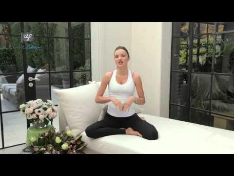 Miranda Kerr's Yoga Earth Hour Challenge