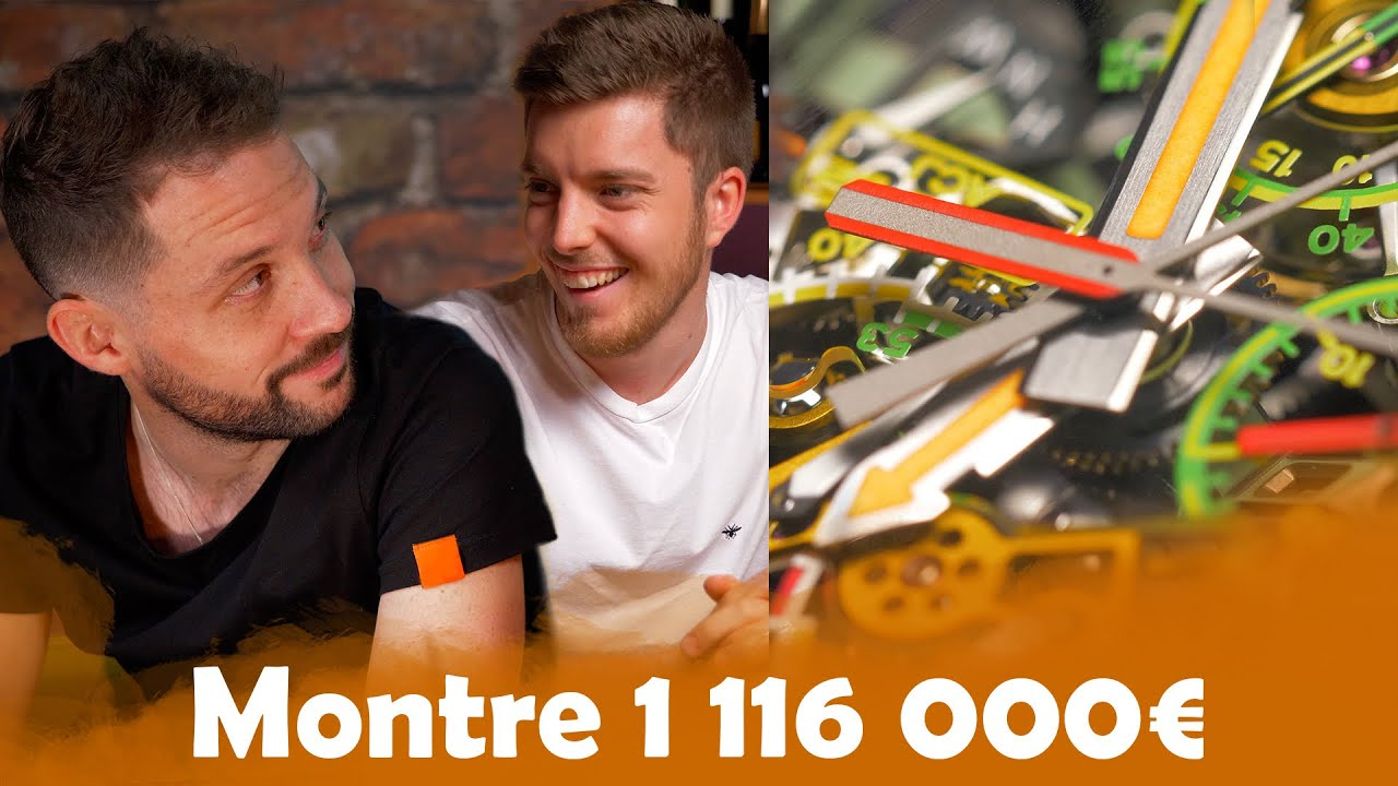 Montre à 10€ VS 1 116 000€ avec Romain Lanéry