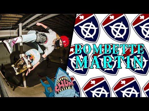BOMBETTE MARTIN @ SUBSTANCE SKATEPARK for EMBASSY SKATEBOARDS