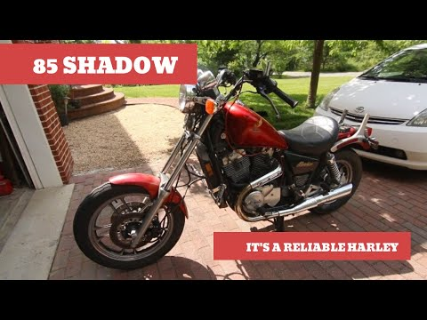 1985 Honda Shadow Overview