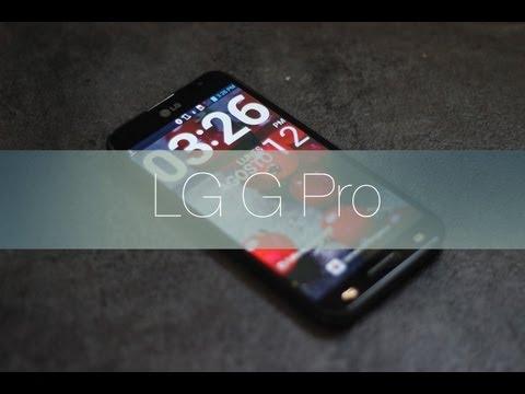 Videoreview LG G Pro en Español