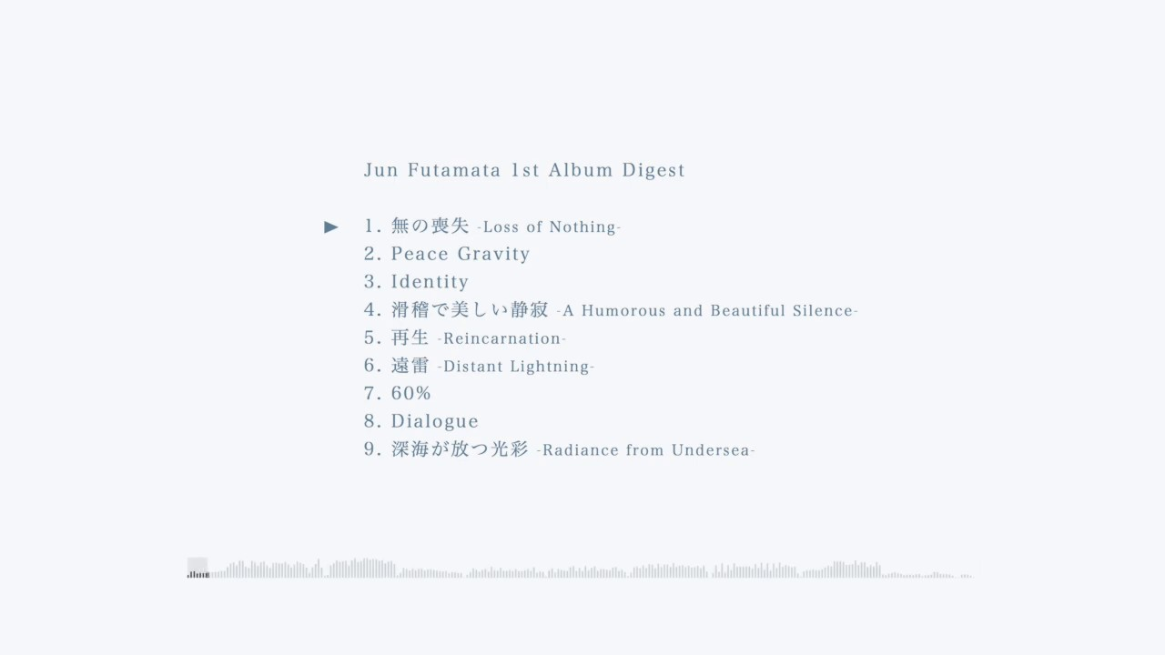 Jun Futamata 1st Album Digest