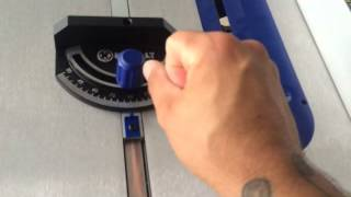 """Kobalt Kt1015 10"""" Portable Table Saw Review"""