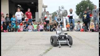 115th Fighter Wing EOD Airmen demonstrate robot capabilities