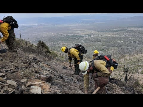 Lighting Increases Chances Of Fires Near The Las Vegas Valley