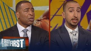 Nick and Cris react to KD's comments about LeBron's 'toxic' environment | NBA | FIRST THINGS FIRST