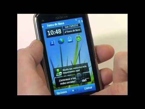 Nokia C6-01 Español