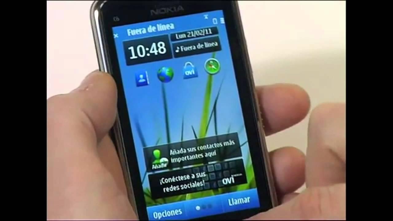 nokia c6 01 espa ol youtube rh youtube com Review Nokia C7 00 Nokia C3-00