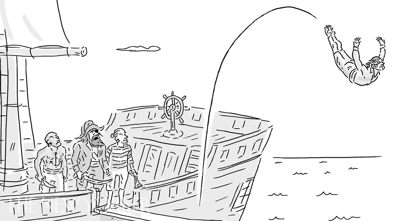 What Was Zach Galifianakis\' Cartoon Caption Entry? | The Cartoon ...
