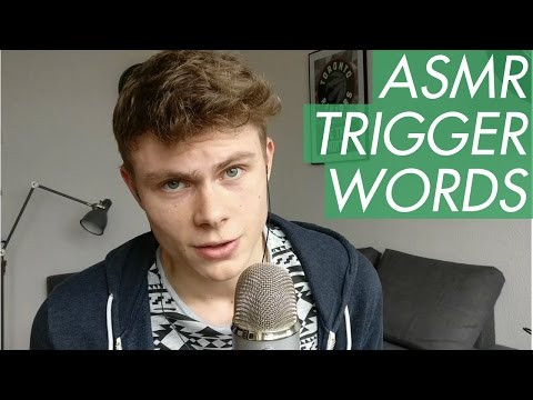 ASMR - Trigger Words in English, German, French, Spanish & Italian - Male Whispering