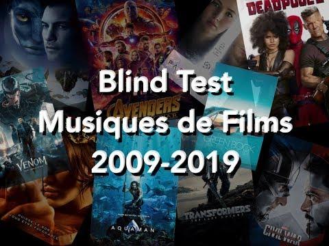 BlindTest Musiques de films 2009 2019
