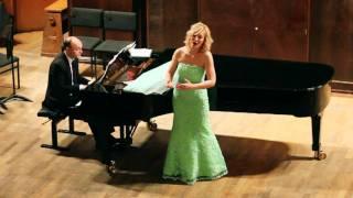 видео: Dementyeva Natalia М.Глинка ''Жаворонок''