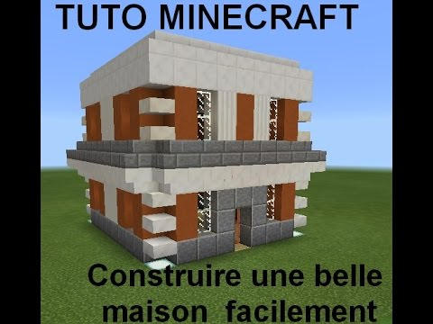 tuto minecraft construire facilement une belle maison pt 1 4 youtube. Black Bedroom Furniture Sets. Home Design Ideas