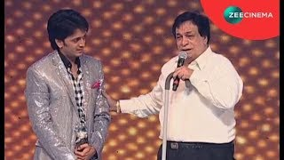Comedy Videos|Double Dhamaal Nite | Kader Khan Awarded The Lifetime Comedy Award by Riteish Deshmukh thumbnail