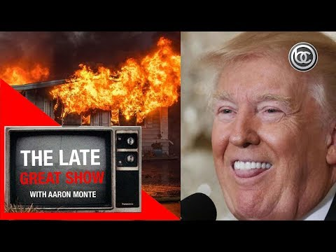 Fires Burn California, Net Neutrality and Trump's Dentures Fall Out