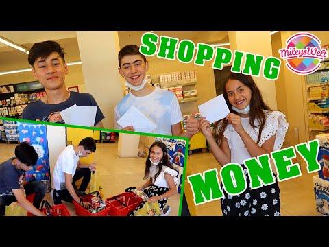 BRİEFUMSCHLAG mit GELD entscheidet über Shopping Budget - HAUL | Mileys Welt