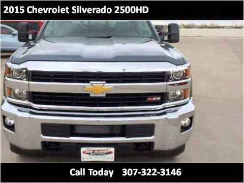 2015 Chevrolet Silverado 2500hd New Cars Cheyenne Wy Youtube