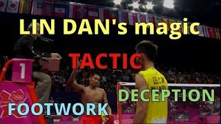 When Badminton is so easy for LIN DAN...?