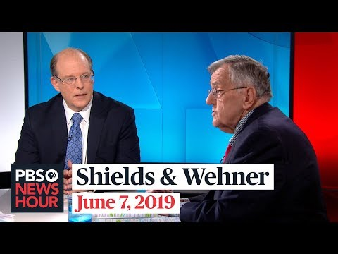 Image result for Images of Mark Shields and Peter Wehner