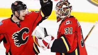 Francis: Chad Johnson has kept Flames season alive