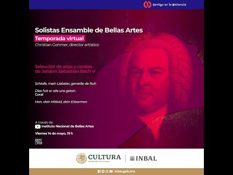 Solistas Ensamble de Bellas Artes / Selección de arias y corales de Johann Sebastian Bach
