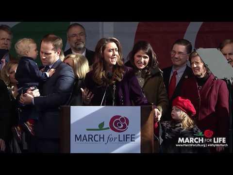 Congresswoman Jaime Herrera Beutler at the 2018 March for Life