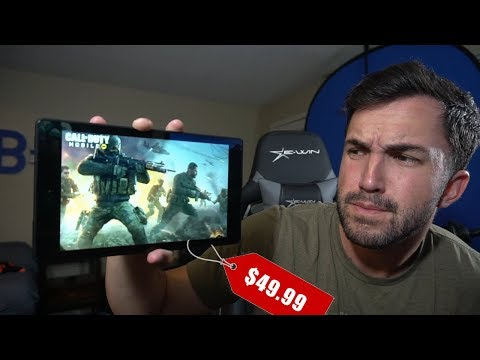 Call Of Duty Mobile On A $50 Tablet