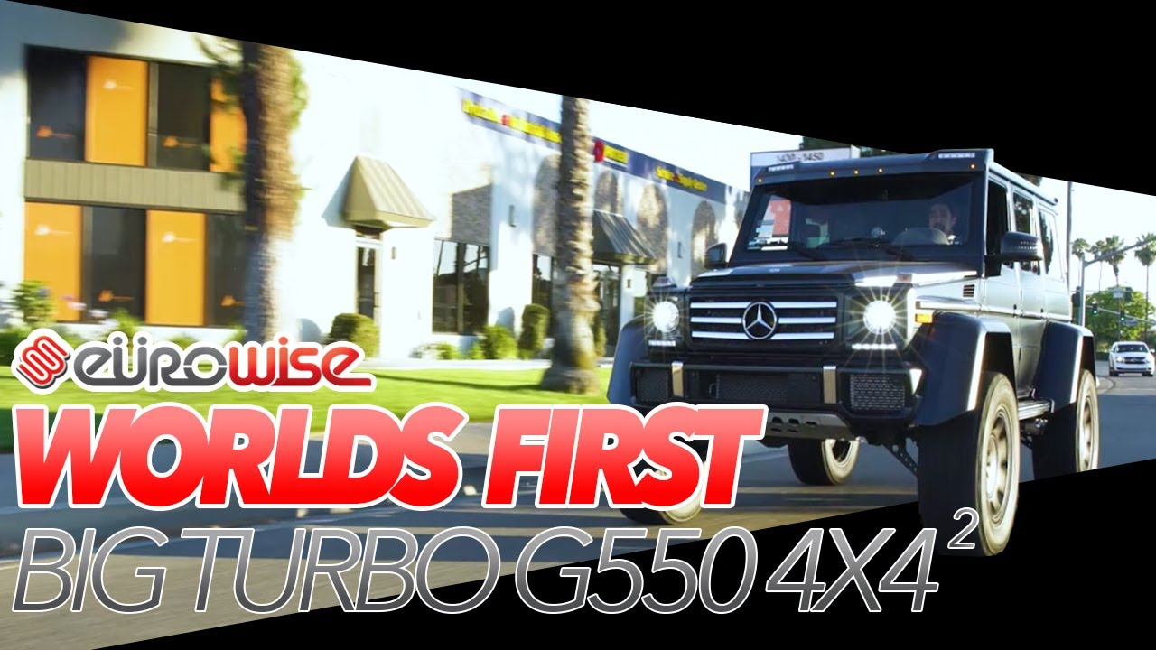 World's First Upgraded Big Turbo G550 4x4 Squared By Eurowise In Charlotte,  NC