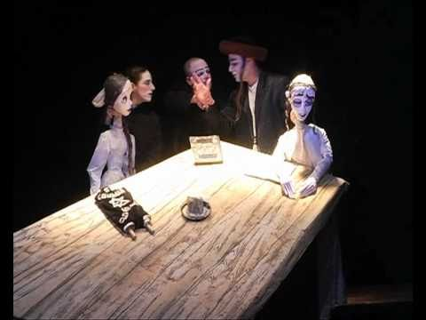 Dybbuk between two worlds funny horror puppet theater show