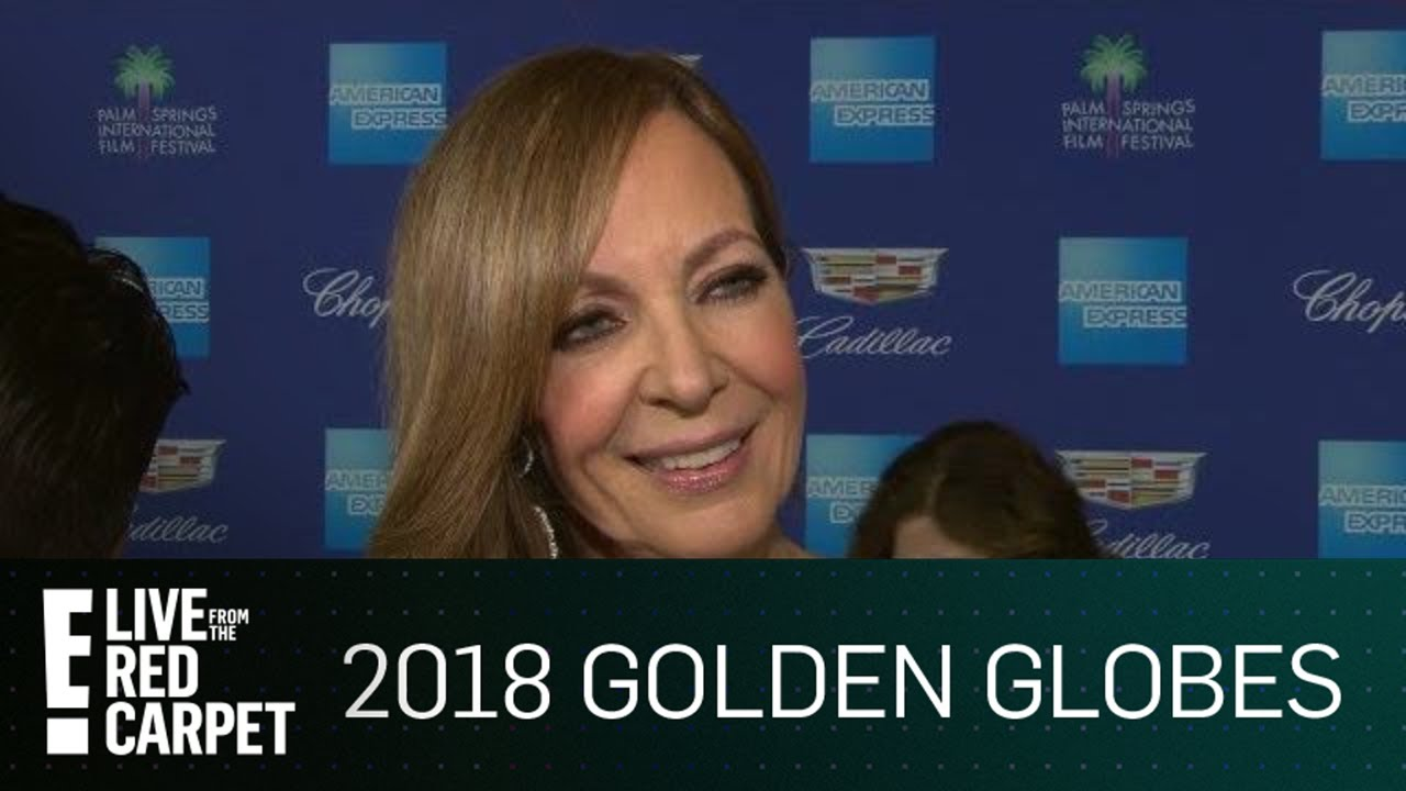 Has allison janney found a 2018 golden globes gown yet e red carpet award shows youtube - Watch e red carpet online ...