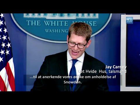 Snowden indser, at han må flygte