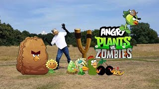 Real life Plants Vs Zombies And Angry Plant Birds - bowser12345 thumbnail