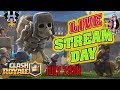 Clash Royale - Live with Traz107 - Trophy Pushing and 2v2 Battles with Subscribers