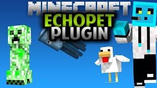 Minecraft Plugin EchoPet - Evcil Hayvan
