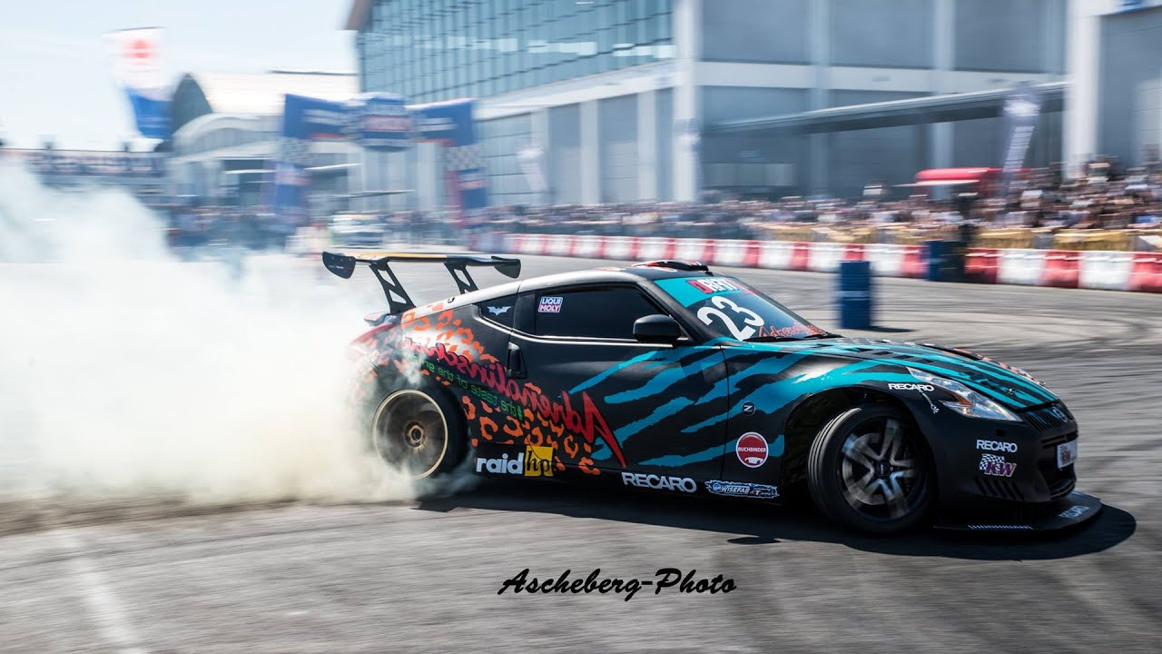 Nissan 370Z Drift 400HP Onboard - YouTube