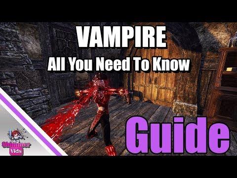 Elder Scrolls Online Vampire Leveling Guide