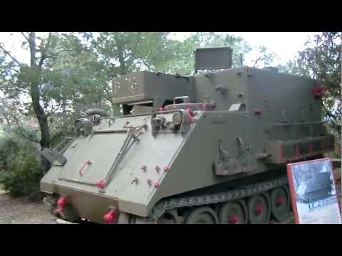 Alfa Cargo Carrier M548 and M577 Command Post based on M113  -Artillery Museum Israel -11