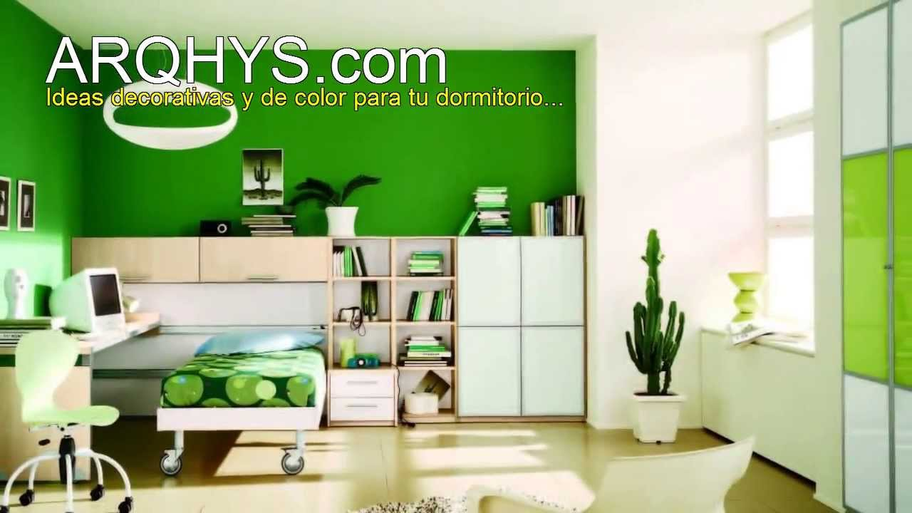 De qu color pintar mi cuarto youtube - Pintar habitacion colores ...