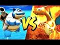 CHARIZARD VS BLASTOISE! (Ark Pokemon)
