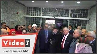 رئيس حى المقطم وعدد من رجال الدين والفن يتبرعون لصندوق تحيا مصر