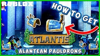 Roblox Atlantis Event | How to Get Atlantean Pauldrons Hat in Disaster Island! | JixxyJax