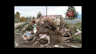 Стихийная свалка из-за «мусорной» реформы / Новости