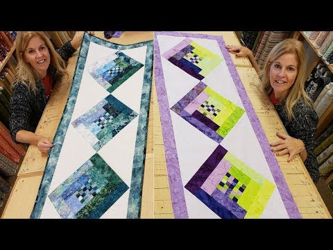 Checkered Runner WHAT COULD BE FUNNER!! Donna's FREE Pattern Tutorial :) thumbnail