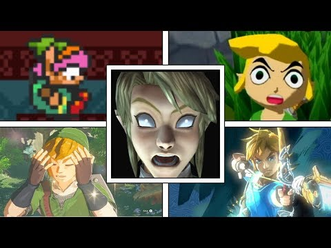 Evolution Of DELETING SAVE FILES In Zelda Games (1987-2018) NES, GBA, Nintendo DS, Switch & More!