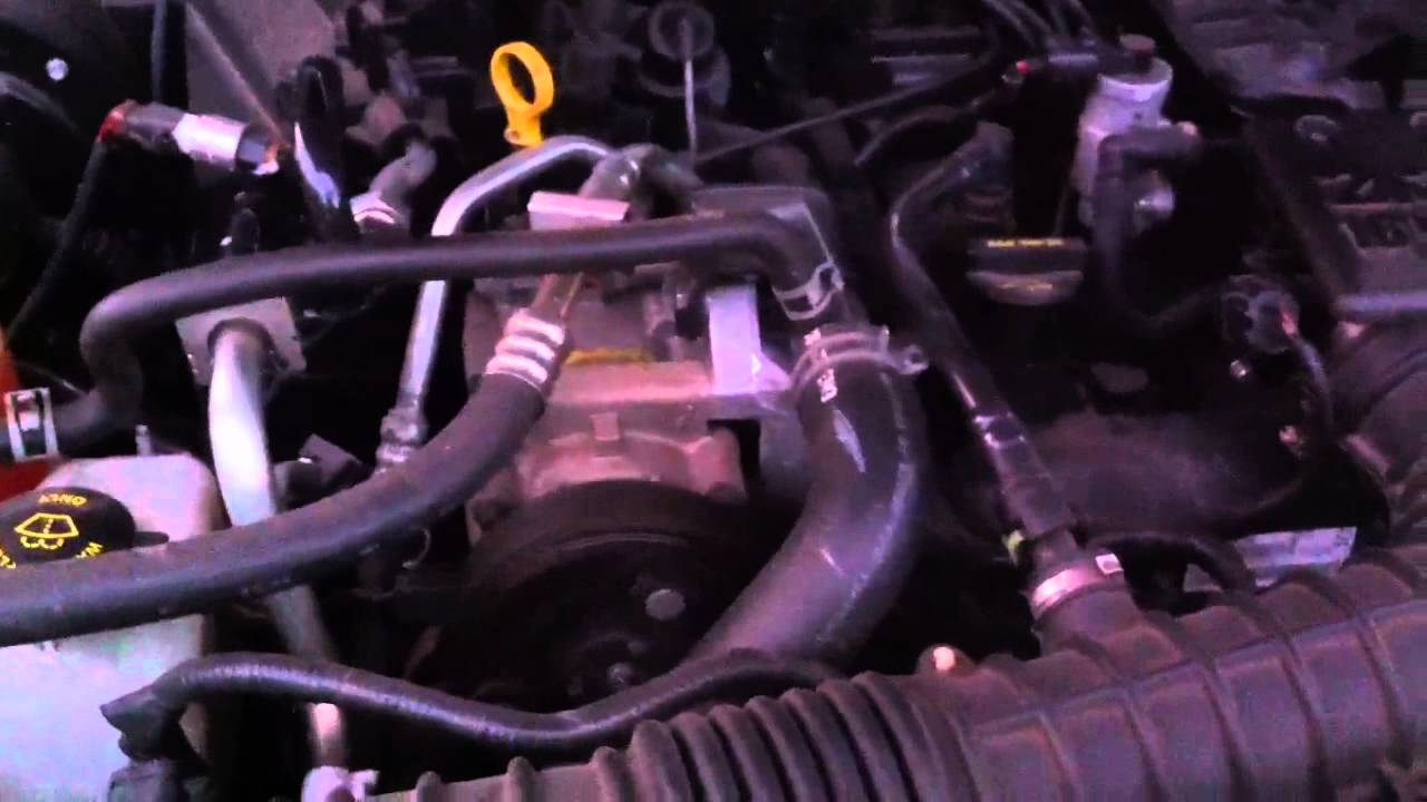 hight resolution of 2006 ford ranger 2 3l duratec engine problem noise broken timing chain tensioner youtube