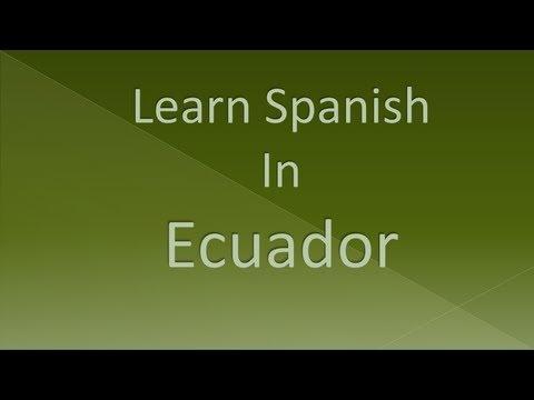 Learn Spanish In Ecuador